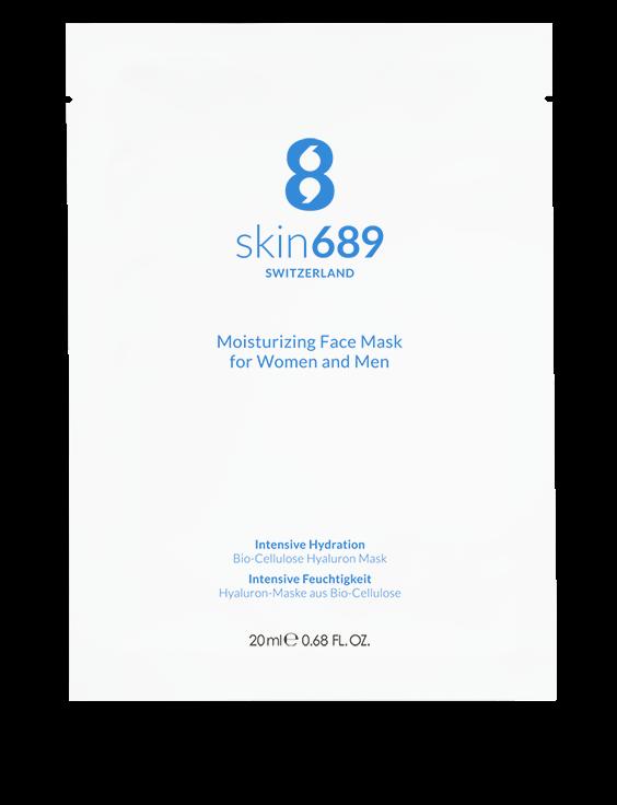 skin689® - Bio-Cellulose Face Mask - 1 Stück á 20 ml