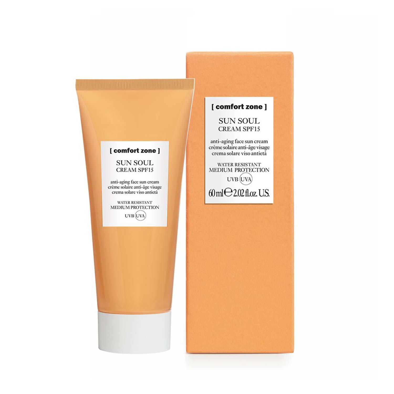 Comfort Zone - Sun Soul Cream SPF 15 - Gesicht Sonnencreme 60 ml