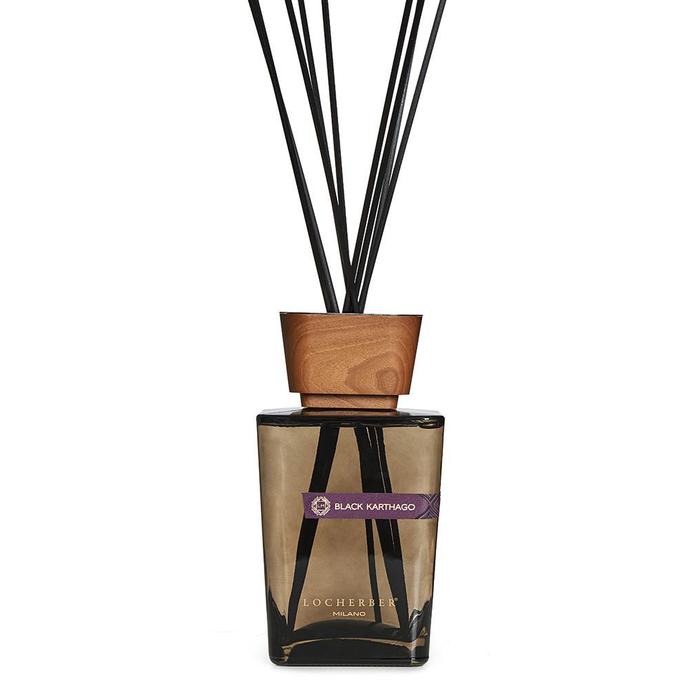 Locherber Milano - Black Karthago - Raumduft 250, 500, 1000 ml Diffusor oder Refill-Behälter