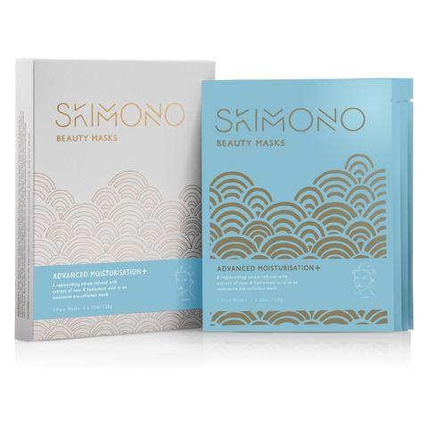 SKIMONO – Advanced Moisturisation+ - Gesichtsmaske 4 Stück