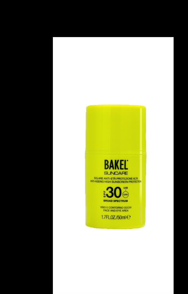 Bakel – Sunscreen Face SPF 30 - Anti-Aging High Sun Protection - LSF30 - 50 ml