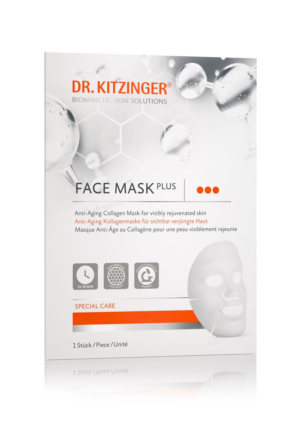 Dr. Kitzinger - 1x Face Mask Plus - Anti-Aging Kollagenmaske