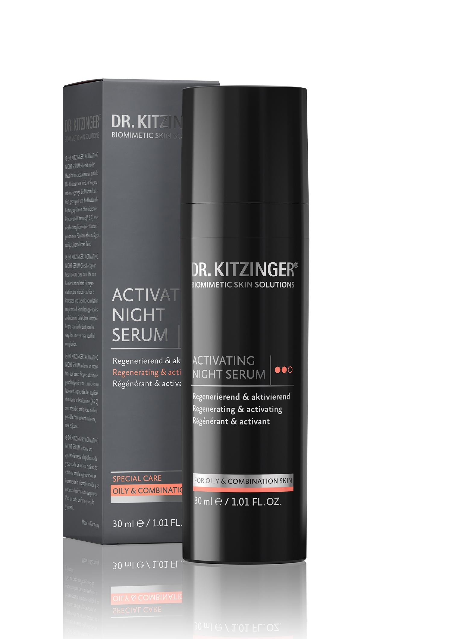 Dr. Kitzinger - Activating Night Serum - Gesichtsserum für die Nacht 30 ml